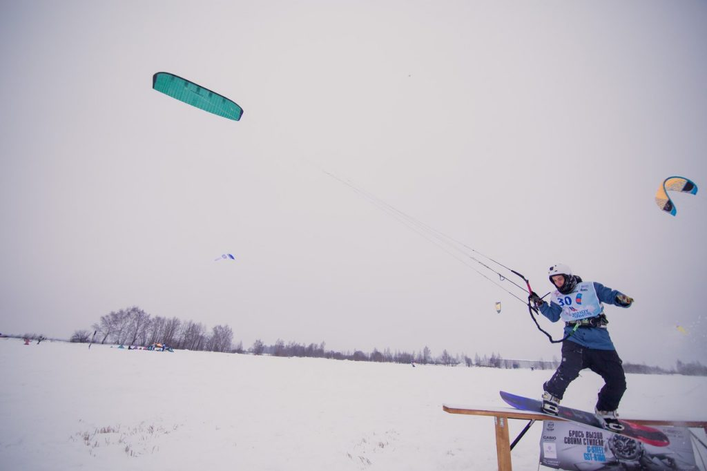 сноукайтинг Windy Games 2018